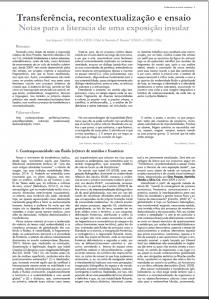 Catálogo Endemismo e Outras Naturezas